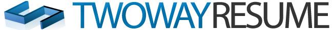Two Way Resume Logo