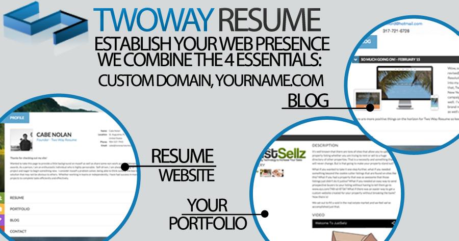 Two Way Resume -