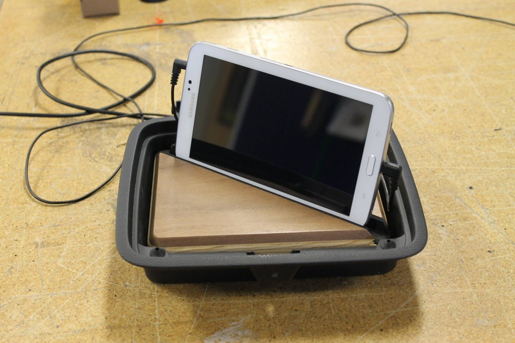 A simple Tablet holder