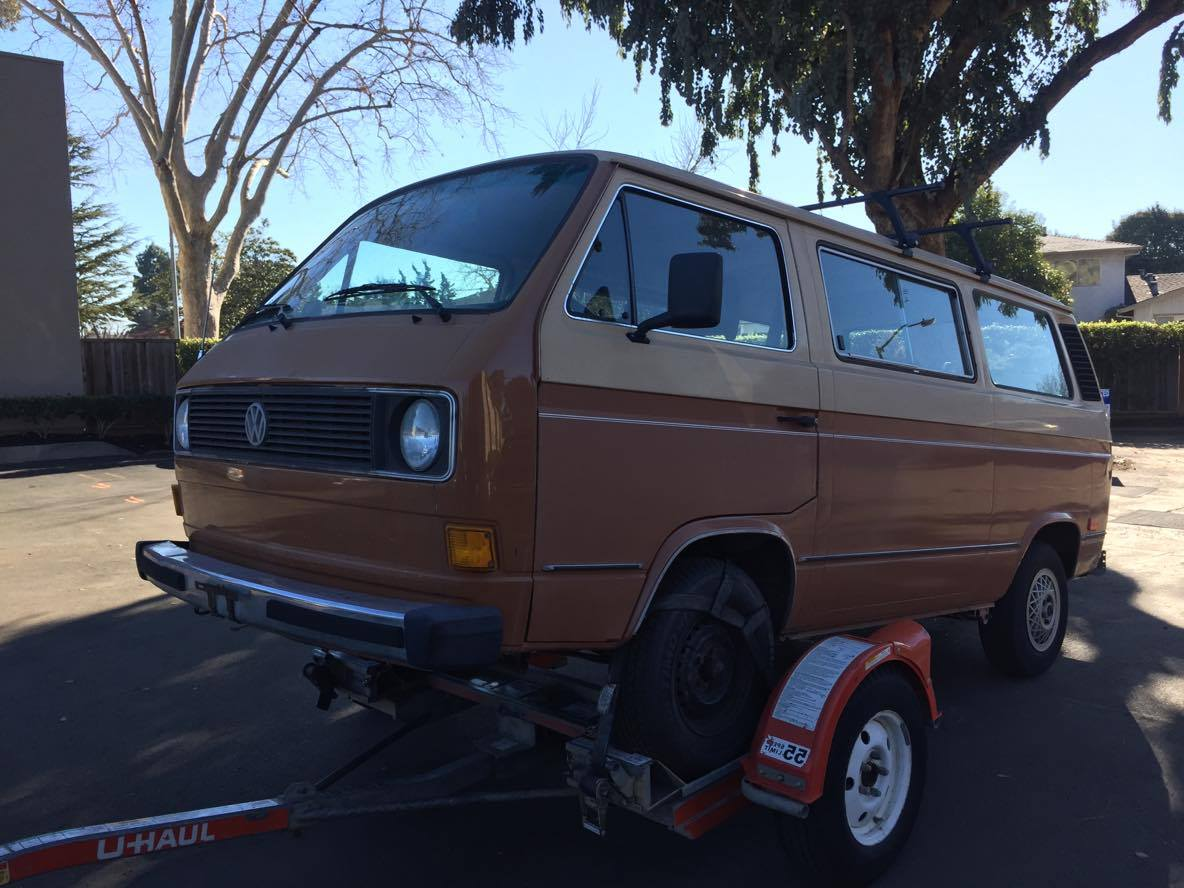 1982 VW Vanagon Project -