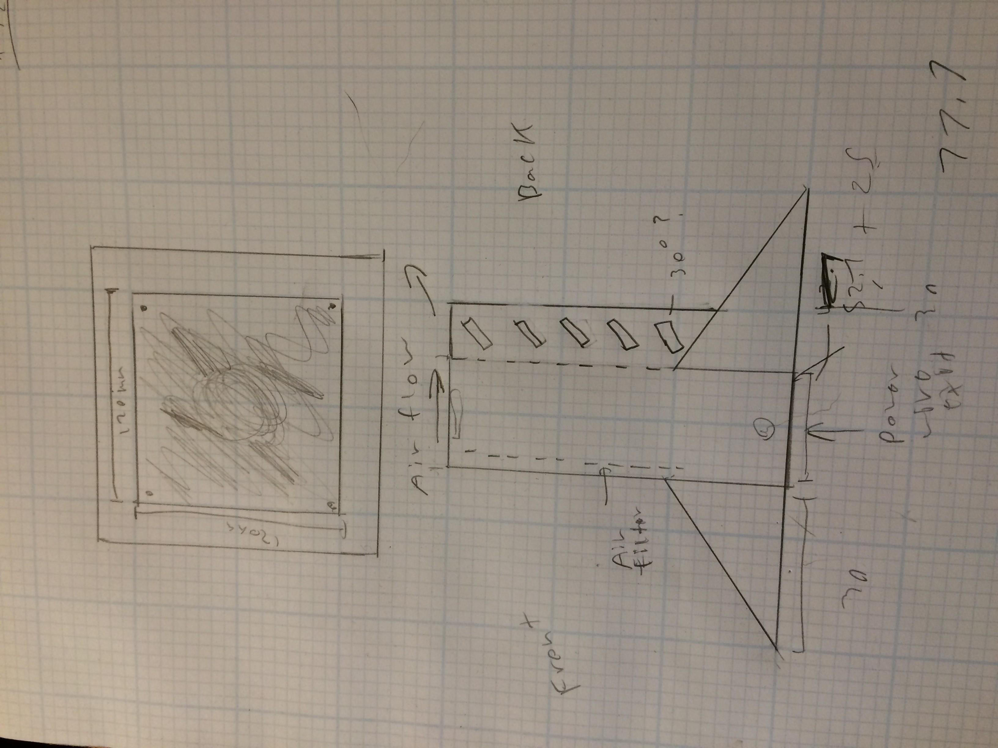 Custom solder fume extractor -