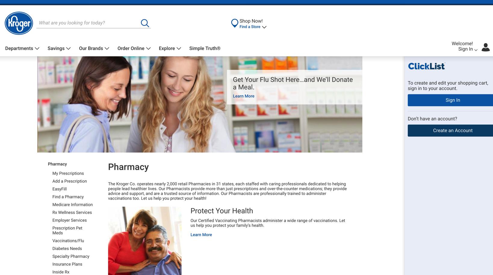 Kroger Pharmacy Web App | soham chakraborty Resume Blog