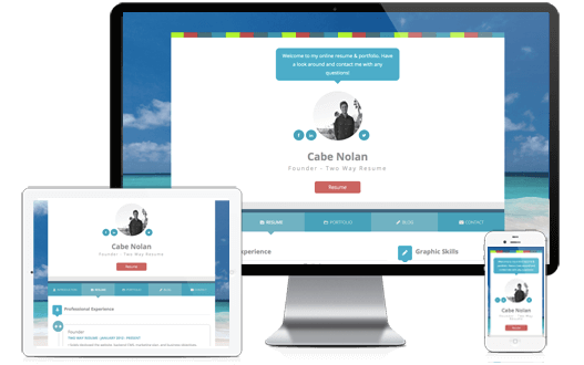 Best Resume Website Builder