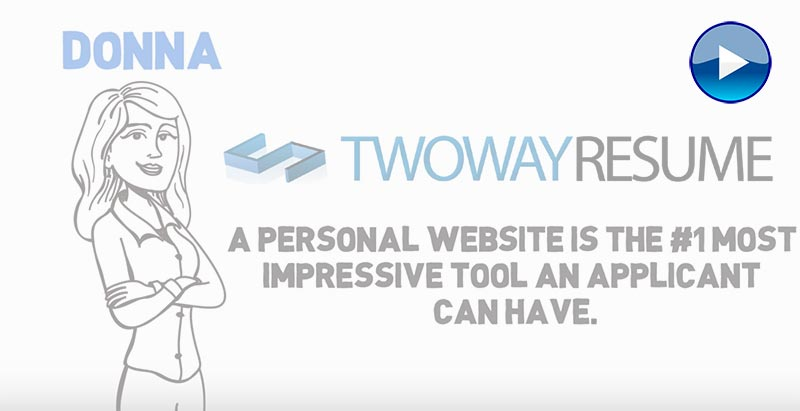 Build A Personal Website Video Instructions