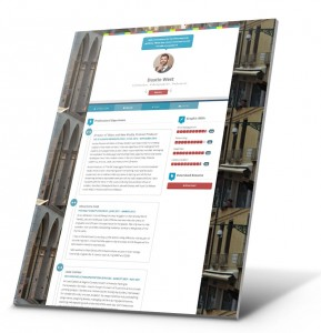 Student Resume, Portfolio Website Example - Dustin West