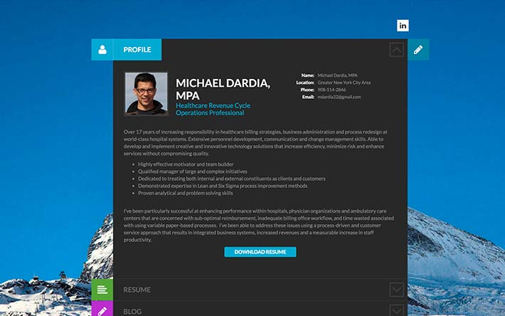 create a resume website  build a personal website  u0026 portfolio